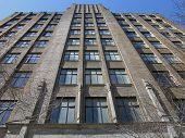 Art Deco Building poster