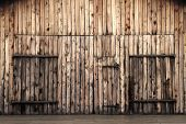 Old Wooden Barn Doors