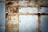 Weathered Garage Door