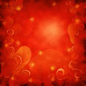 Red Christmass Background