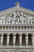 France; Lyon; Lyons; Facade Of He Basilica Of Notre Dame De Fourviere