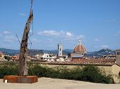 View on Florence from Palace Pitti.