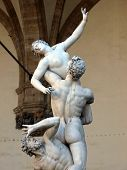 Florence - Rape of the Sabine women
