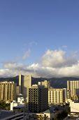 Sunrise In Waikiki Hawaii