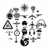 Atmosphere Icons Set. Simple Set Of 25 Atmosphere Vector Icons For Web Isolated On White Background poster