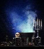 stock photo of occult  - Halloween still - JPG