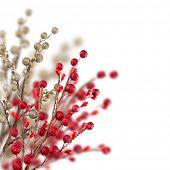 Weihnachten dekorativen Hintergrund