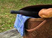Picnic Basket Closeup
