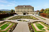 foto of sissi  - Beautiful Schonbrunn Palace in Vienna - JPG