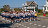 Coast Guard Cadets In Basic Training At Cape May