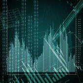 Colour business finance chart, diagram, bar, graphs