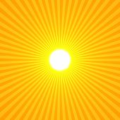 stock photo of sun rays  - Yellow Sun Abstract Rays Shine From A Bright Center Illustration Background - JPG