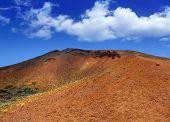 Islas Canarias Tenerife Teide Parque Nacional Montana Mostaza montaña