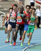 BARCELONA - JULY, 13: Edwin Kiplagat Melly of Kenya during 800m event the 20th World Junior Athletic