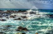 HDR_island_beautiful_colorful_sea_waves_splashing_on_rocks