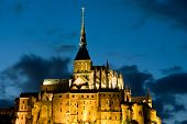 Le Mont St Michel In Normandie, France