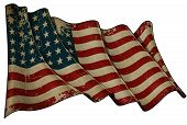 Us Flag Wwi-wwii (48 Stars) Historic Flag