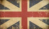 Union Jack 1606�1801 (the King's Colours) Flat Aged