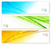 foto of colorful banner  - Abstract colorful vector  website banner - JPG