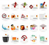Mail Vector And Letter  -vector Icon Set 2