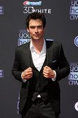 LOS ANGELES - AUG 1:  Ian Somerhalder arrives at the 2013 Young Hollywood Awards at the Broad Stage