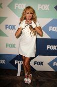 SLOS Ángeles - 1 de AUG: Paulina Rubio llega a la fiesta de TCA de Fox All-Star verano 2013 en el SoHo H