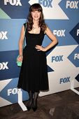 SLOS ANGELES - AUG 1:  Zooey Deschanel arrives at the Fox All-Star Summer 2013 TCA Party at the SoHo