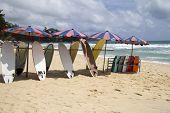 Surfboards On Surin Beach 2