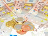 Coins Over 50 Euro Bills