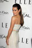 Lea Michele at the Elle 20th Annual