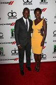 Julius Tennon, Viola Davis at the 17th Annual Hollywood Film Awards Arrivals, Beverly Hilton Hotel, Beverly Hills, CA 10-21-13