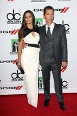 Camila Alves and Matthew McConaughey at the 17th Annual Hollywood Film Awards Arrivals, Beverly Hilt