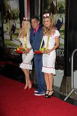 Anne McDaniels, Jeff Tremaine and Jessica Kinni at the