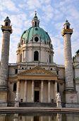 St. Charles Church (Karlskirche) in Vienna