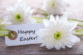 Label With Happy Easter