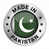 Made In Pakistan Silver Badge