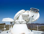 LA PALMA, CANARY ISLANDS, SPAIN - JULY 13, 2012: SST Swedish Solar Telescope at ORM observatory by I