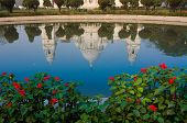 Victoria Memorial, Kolkata , India - Reflection On Water.