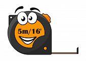 5 metre or 16 foot long tape measure