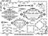 Vintage wedding design elements