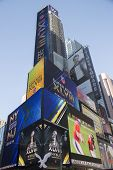 W Times Square Hotel during Super Bowl XLVIII week in Manhattan