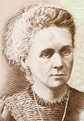 POLAND - CIRCA 2011: Marie Curie (1867-1934) on 20 Zlotych 2011 Banknote from Poland. French-Polish