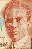 COSTA RICA - CIRCA 2005: Clodomiro Picado Twight (1887-1944) on 2000 Colones 2005 Banknote from Cost