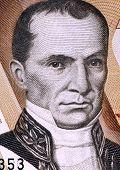 ECUADOR - CIRCA 1998: Vicente Rocafuerte (1783-1847) on 10000 Sucres 1998 Banknote from Ecuador. Pre