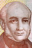 COSTA RICA - CIRCA 2009: Braulio Carrillo Colina (1800-1845) on 1000 Colones 2009 Banknote from Cost