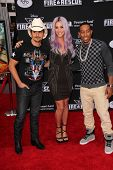 LOS ANGELES - JUL 16:  Brad Paisley, Ke$ha, Ludacris at the
