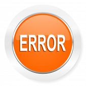 error orange computer icon