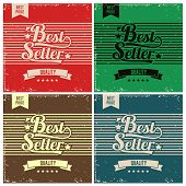 Best Seller Retro Background