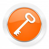 key orange computer icon