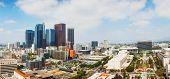 Los Angeles Cityscape Panorama